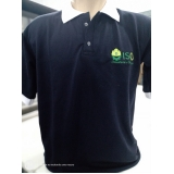 atacado de camisa polo bordada uniforme Guararema