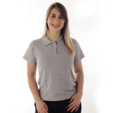 atacado de camisa polo para uniforme feminino Jockey Club