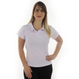 camisa polo lisa uniforme Parque São Domingos