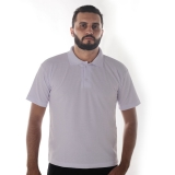 camisa uniforme de gola polo cotar Brooklin