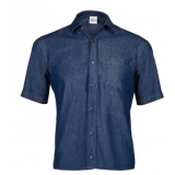camisa jeans masculina