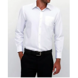 camisa slim fit masculina