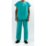 scrubs verde para hospital Vila Prudente